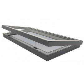 Sunlux flat roof window electric 100cm x 200cm
